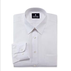 Stafford dress shirt with comfort stretch